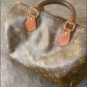 Louis Vuitton Monogram Top Handle Speedy 30